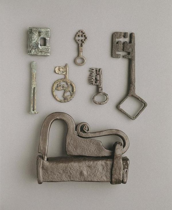 Bolig i middelalderen laasesamling   Foto Jesper Weng  Nationalmuseet  CC BY SA
