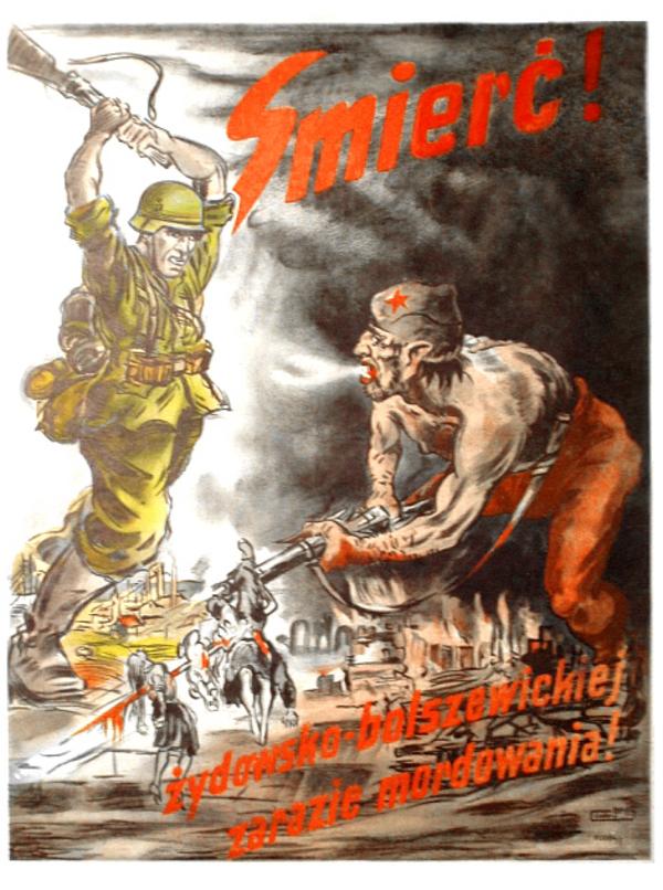 German antisemitic and anti Soviet poster wiki
