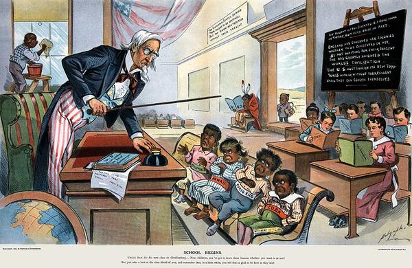 School Begins  Puck Magazine 1 25 1899  cropped  wiki