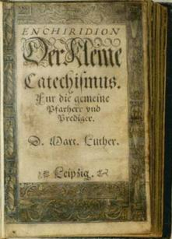Katekismus  Det kongelige bibliotek  Billedsamlingen