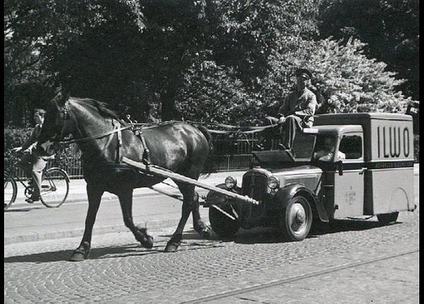 Hestetrukket bil  u aa   Frihedsmuseet