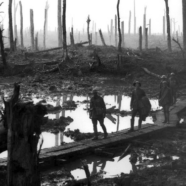 1. verdenskrig i store træk