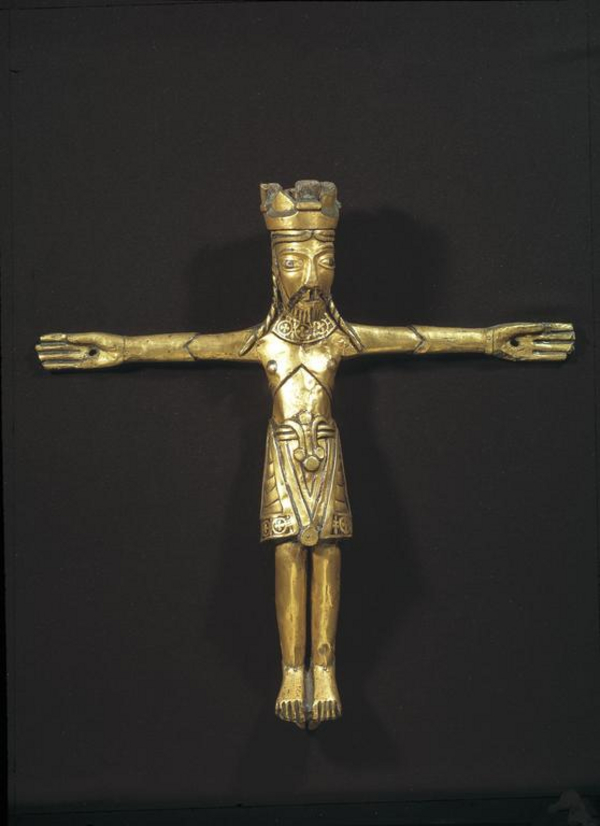 AAby krucifikset DMR 167915 original  Lennart Larsen  Nationalmuseet  CC BY SA