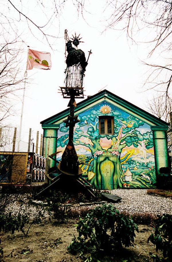 Frihetsgudinnen  Christiania Karin Beate Noesterud