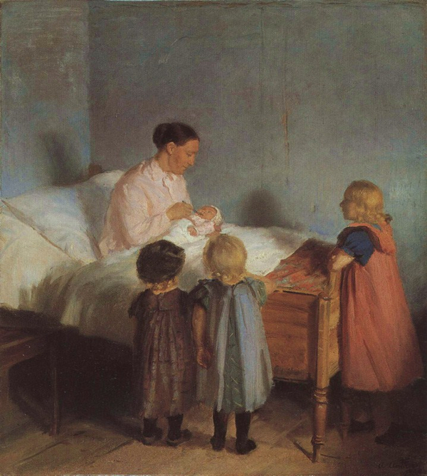 Little Brother  Anna Ancher