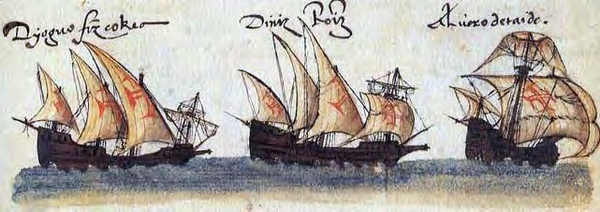 Ships from da Gama s 2nd voyage 1502 wiki