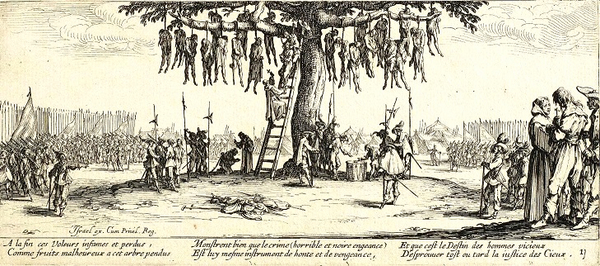 The Hanging by Jacques Callot wiki