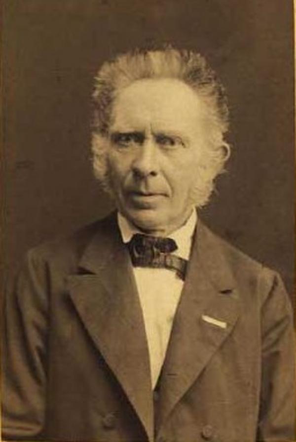Caspar Frederik Wegener 1876 by Hansen  Schou   Weller