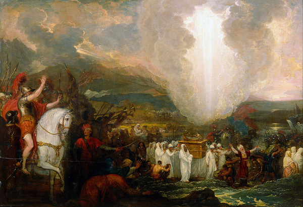 Benjamin West   Joshua passing the River Jordan with the Ark of the Covenant   Google Art Project wiki
