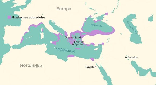graeske kolonier DK 2