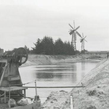 Inddæmningen af Lammefjorden