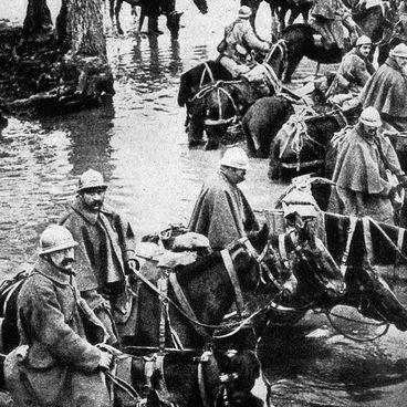 Slagene ved Verdun og Somme
