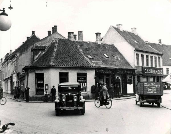 Trafik  Valdemar Paulli  1930 40  Lokalarkivet i Nakskov  Det Kongelige Bibliotek  Danmarksbilleder