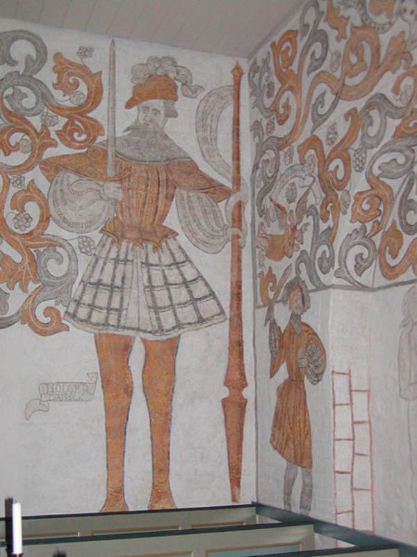 Wikimedia Commons  Holger Danske i Skaevinge kirke