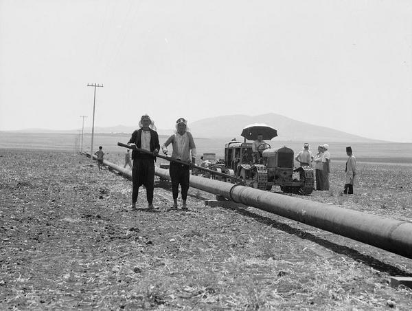 Pipeline work