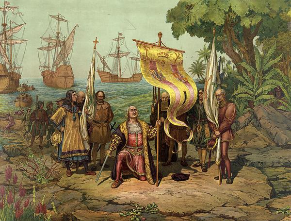 Columbus Taking Possession wiki