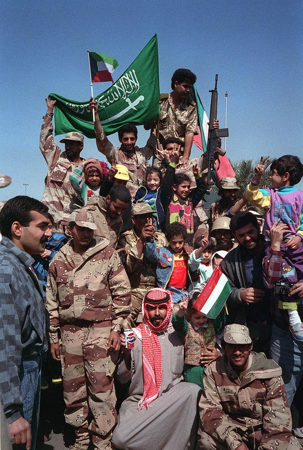 800px Gulf War Saudi Flag