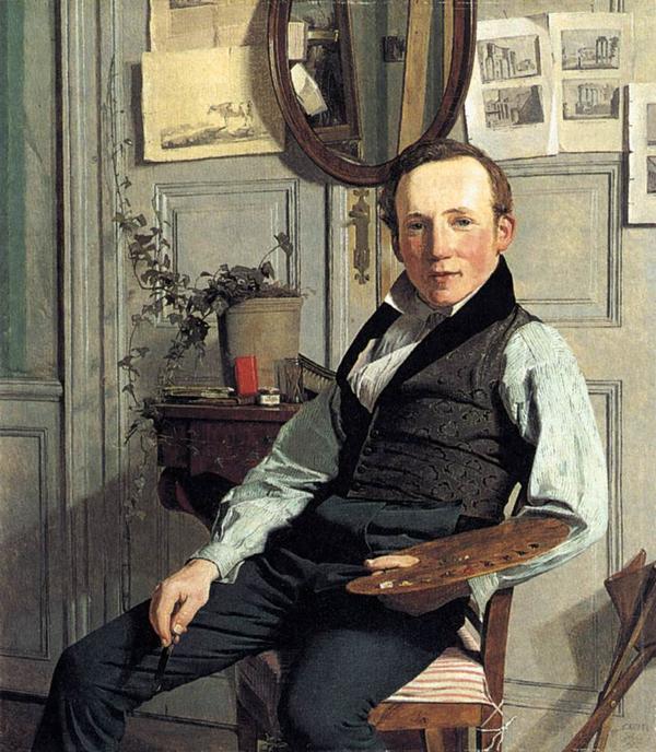 Frederik Soedring  Af Chr  Koebke  1832  Den Hirschsprungske Samling
