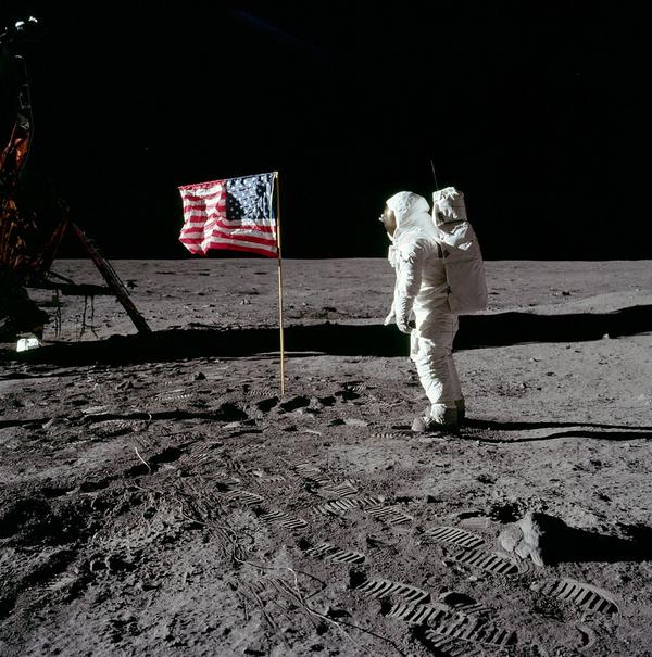 1024px Buzz salutes the U S  Flag